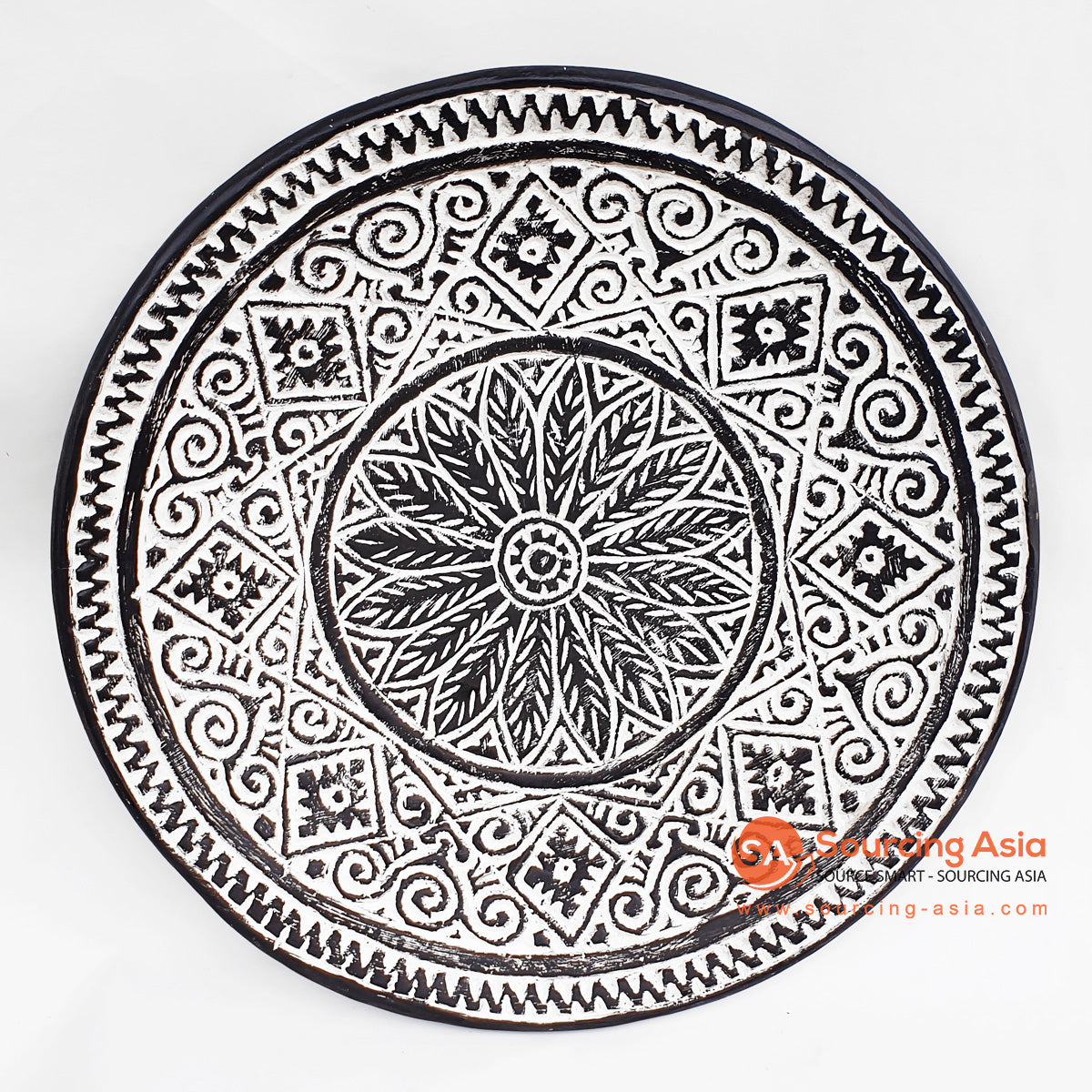 DGPC006 ETHNIC TRIBAL PLATE DECORATION