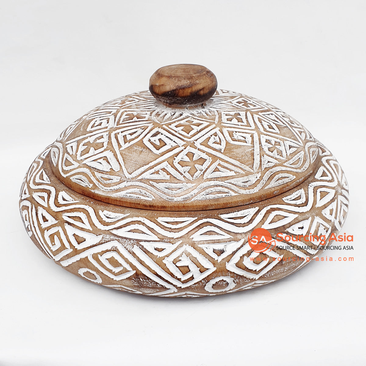 DGPC010 ETHNIC TRIBAL CARVED BOWL