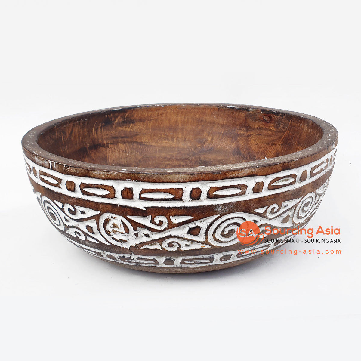 DGPC016-1 ETHNIC TRIBAL CARVED BOWL