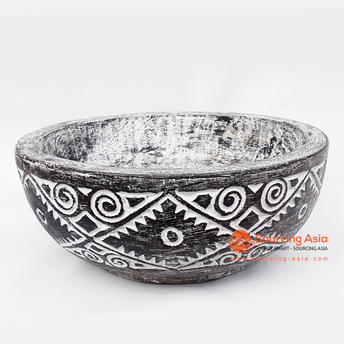DGPC016-2 ETHNIC TRIBAL CARVED BOWL
