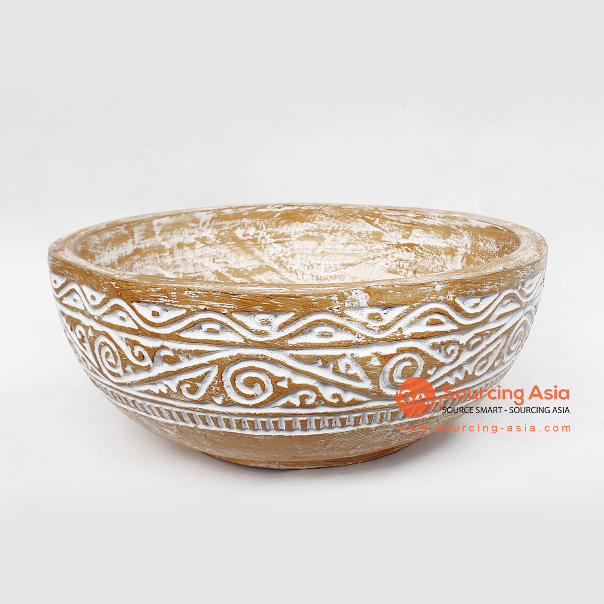 DGPC016 ETHNIC TRIBAL CARVED BOWL