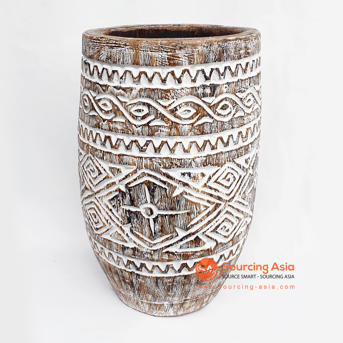 DGPC032-1 TRIBAL POT