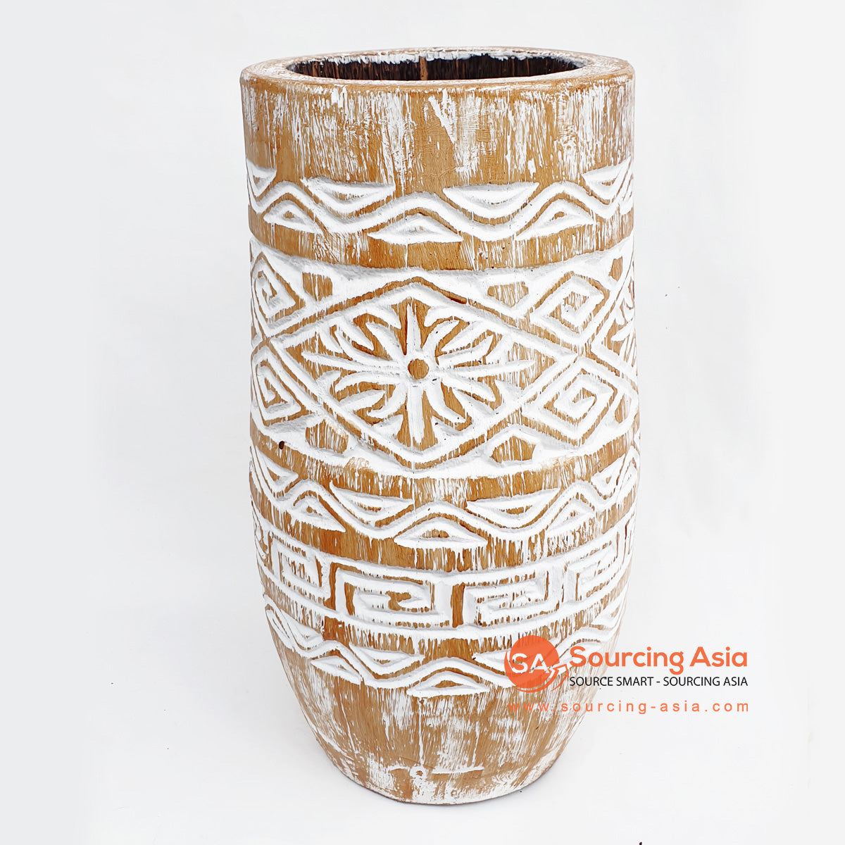 DGPC032-3 TRIBAL POT