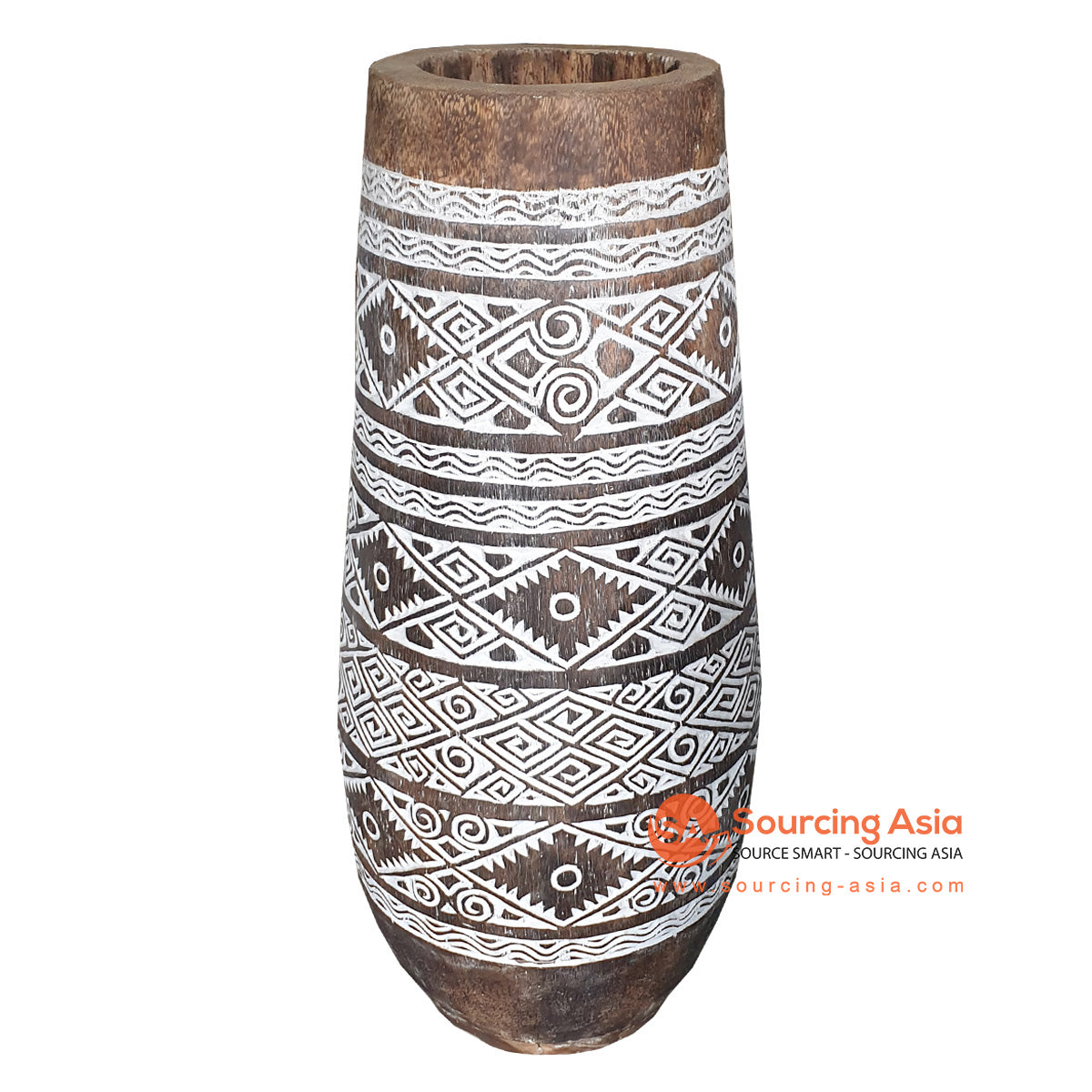 DGPC037 TRIBAL PALM POT