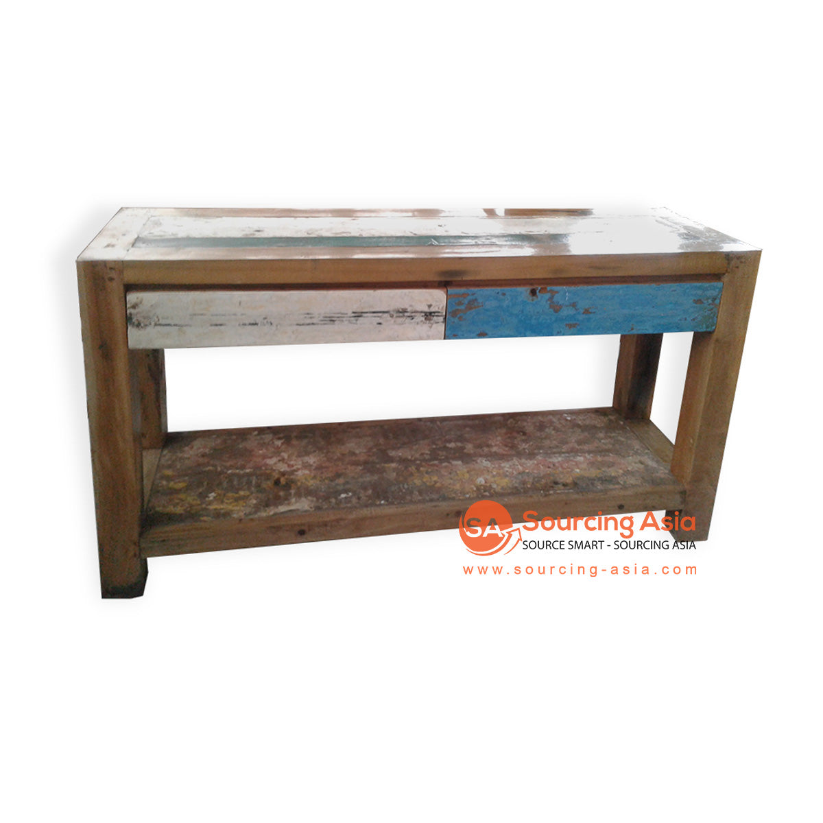 DVD034-140A BOAT WOOD CONSOLE