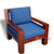 ECL048-75SP WOODEN CHAIR WITH ARMS