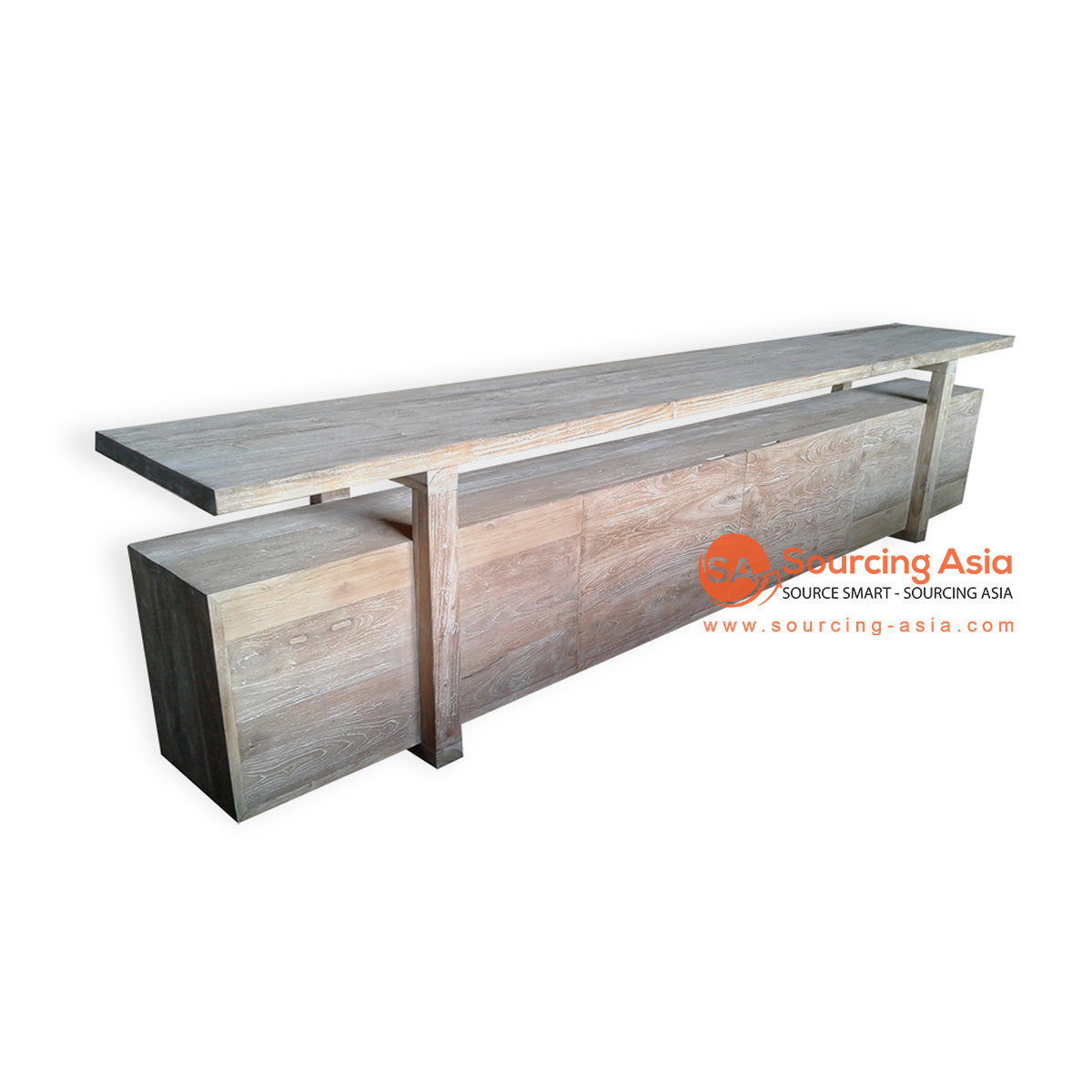 ECL105 RECYCLED TEAK CONSOLE