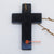 EXAC005-1 BLACK MARBLE CROSS WALL HANGING
