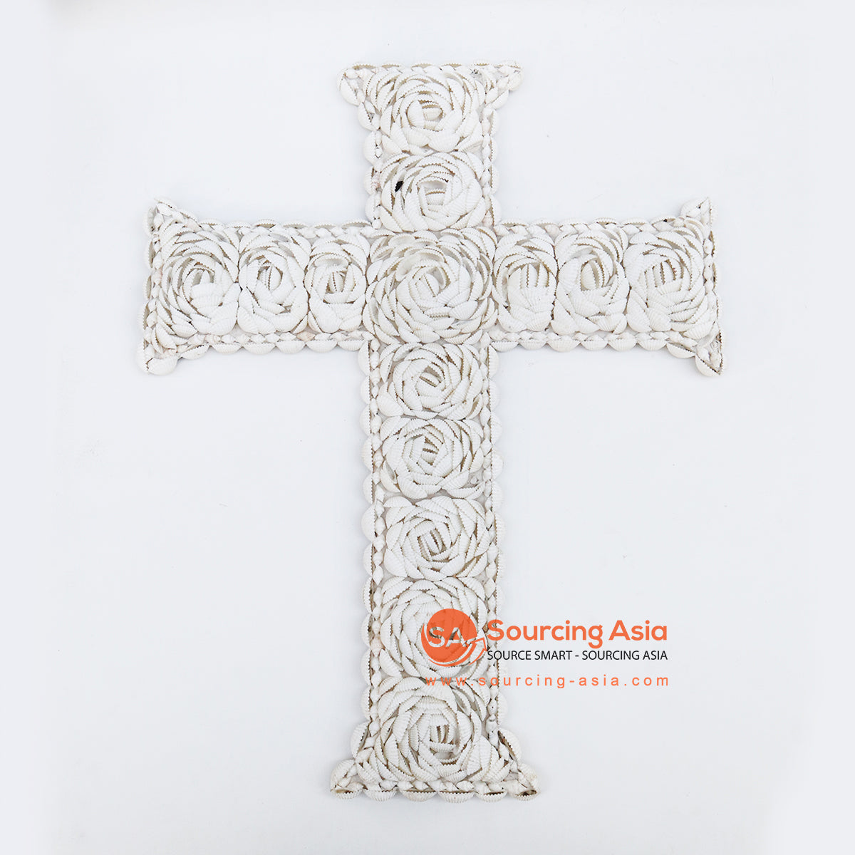 EXAC020-1 SHELL CROSS WALL HANGING
