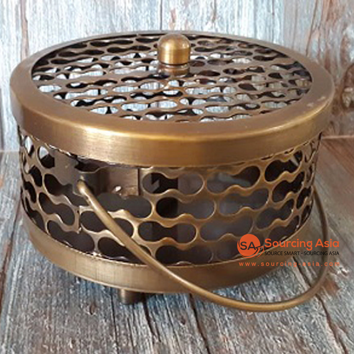 GB102 BRONZE MOSQUITO COIL HOLDER