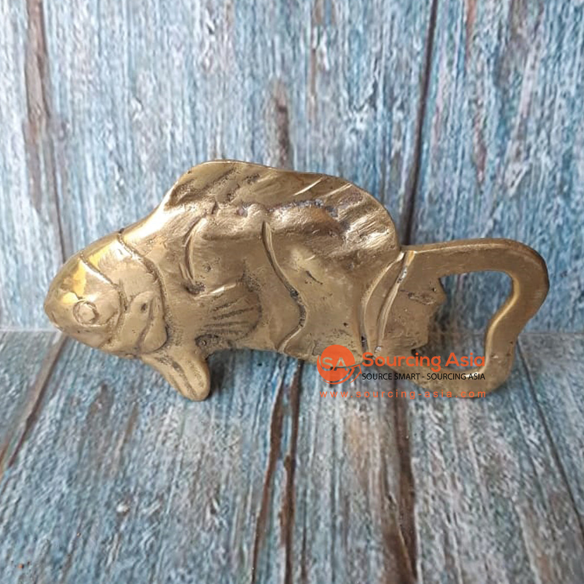 GB162 BRONZE BOTTLE OPENER FISH