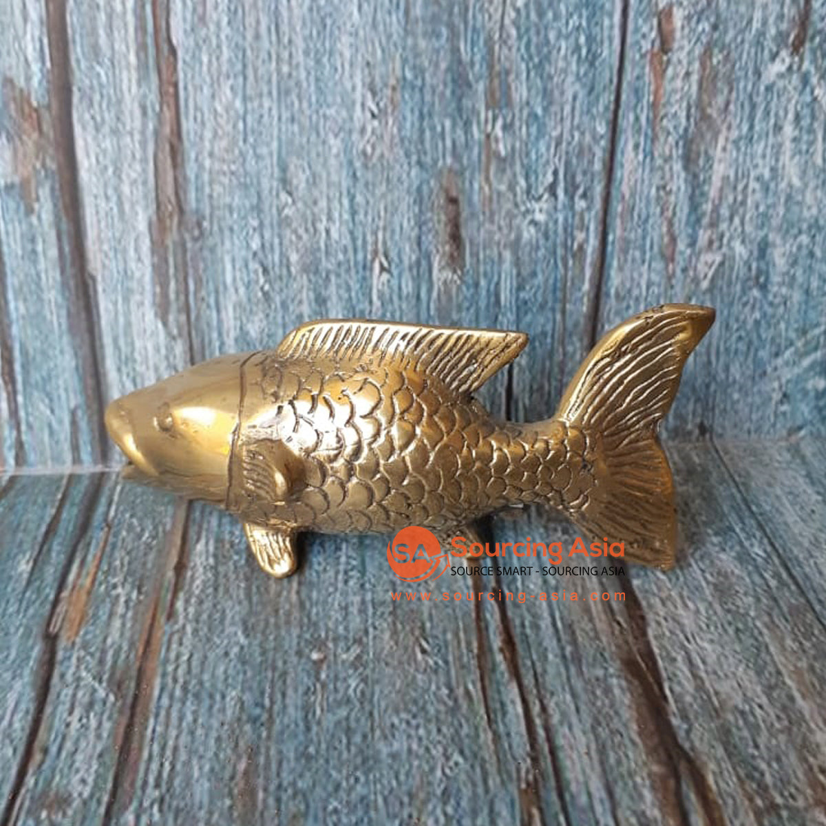 GB165 BRONZE FISH