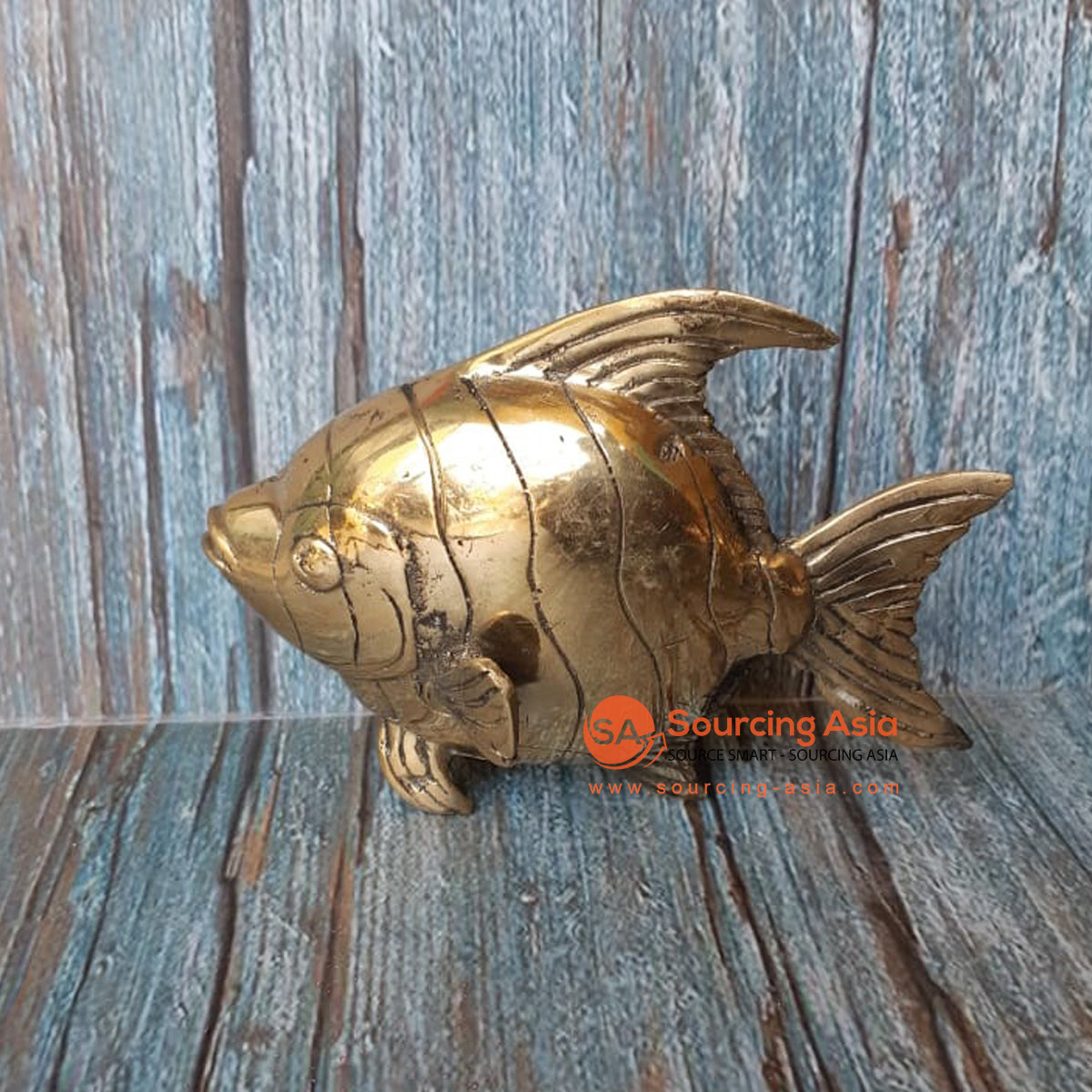 GB168 BRONZE FISH