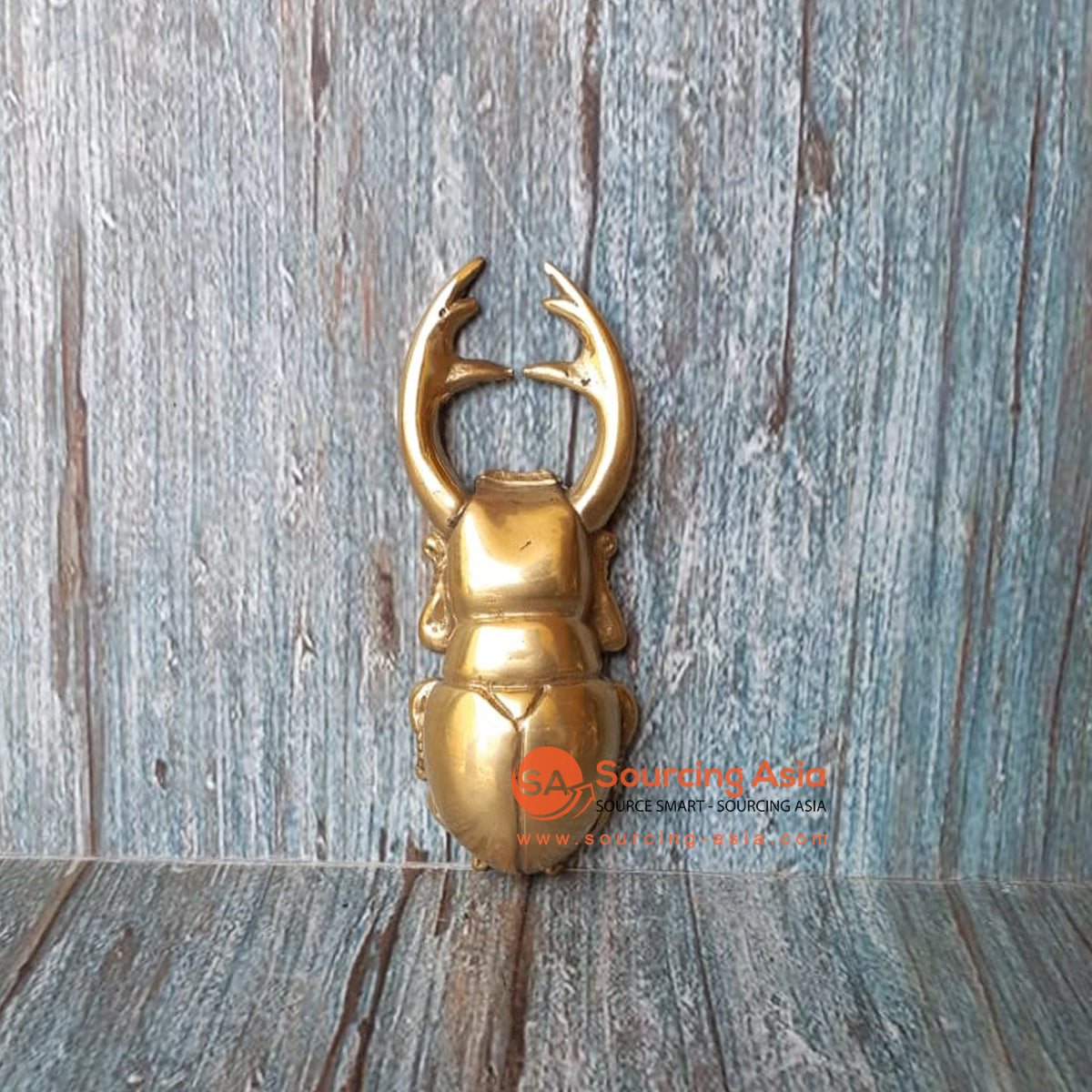 GB175 BRONZE BEETLE BOTTLE OPENER