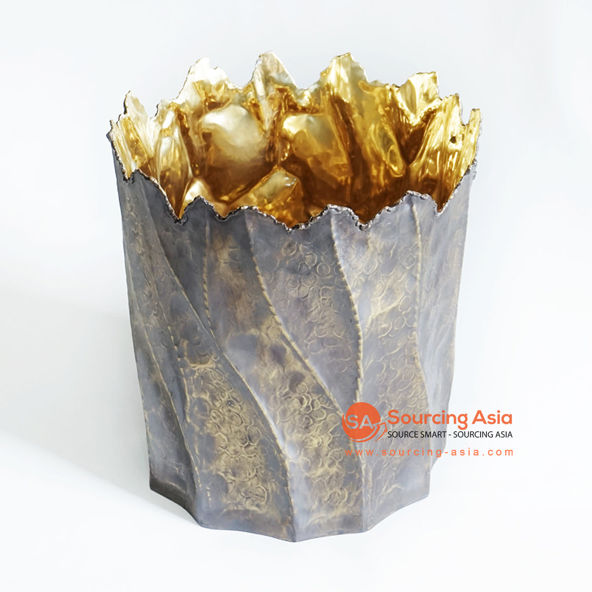 GKT018-2 BRASS ICE BUCKET