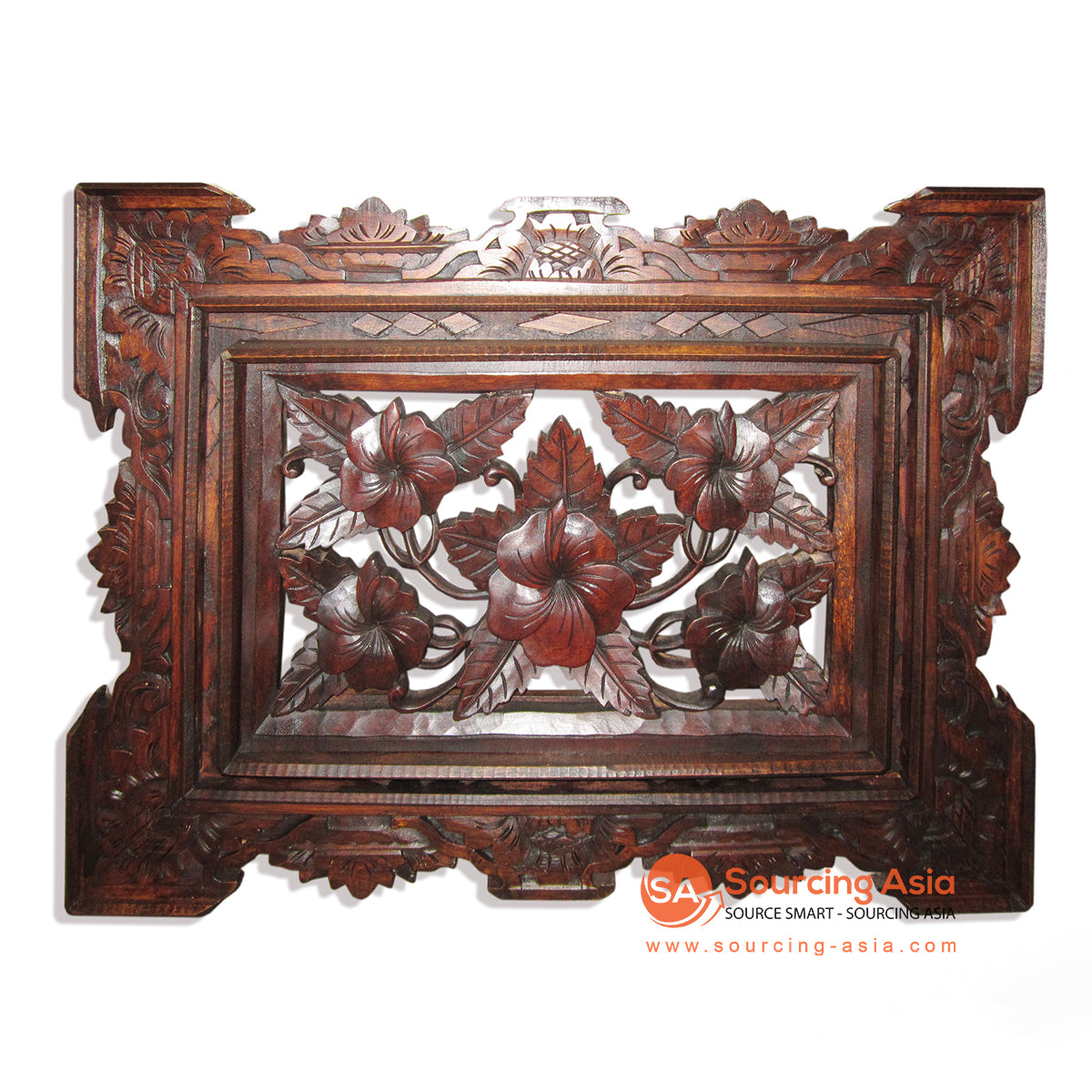 GUR005-B WOODEN WALL DECORATION WITH CARVING