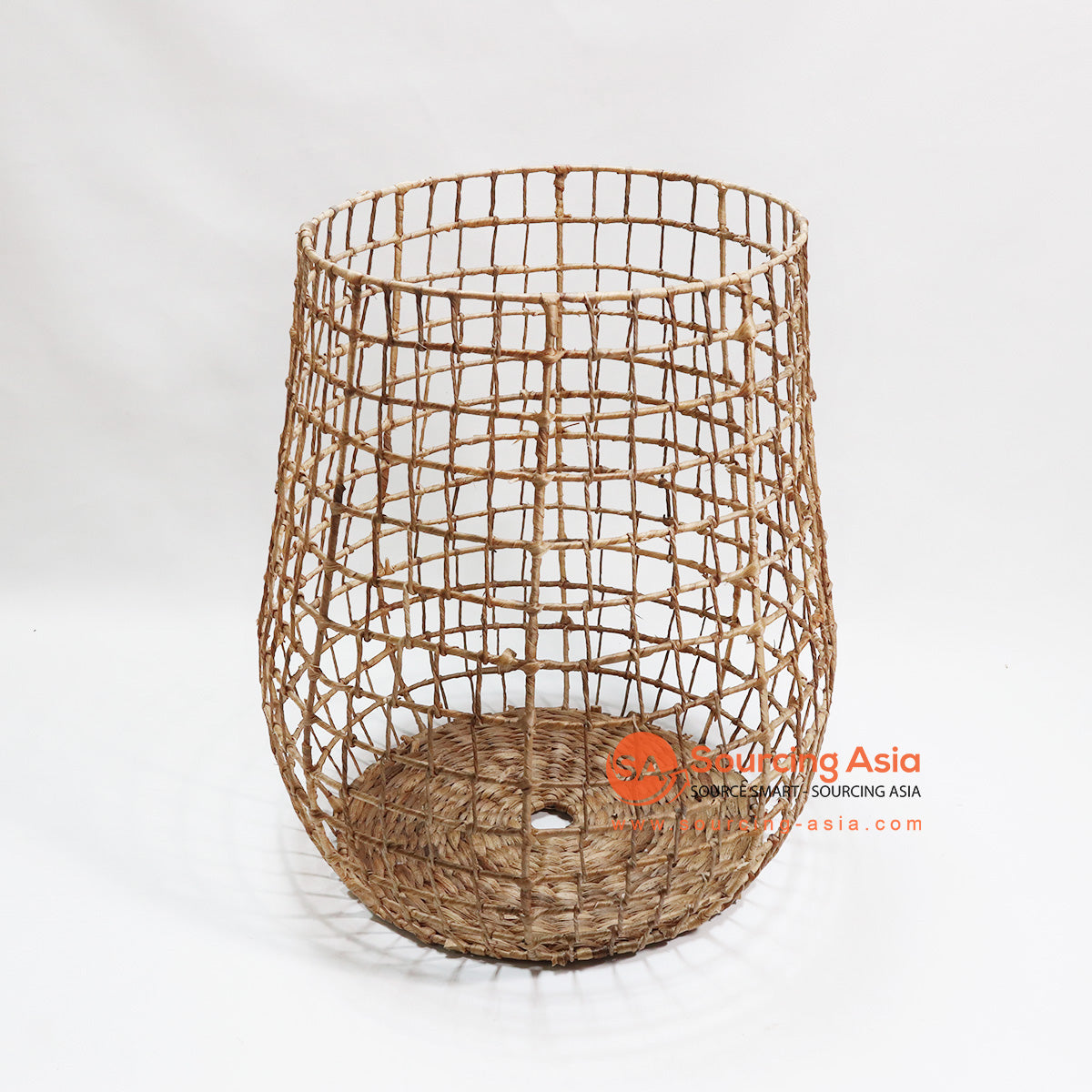 HBSC064 WATER HYACINTH WASTE PAPER BASKET