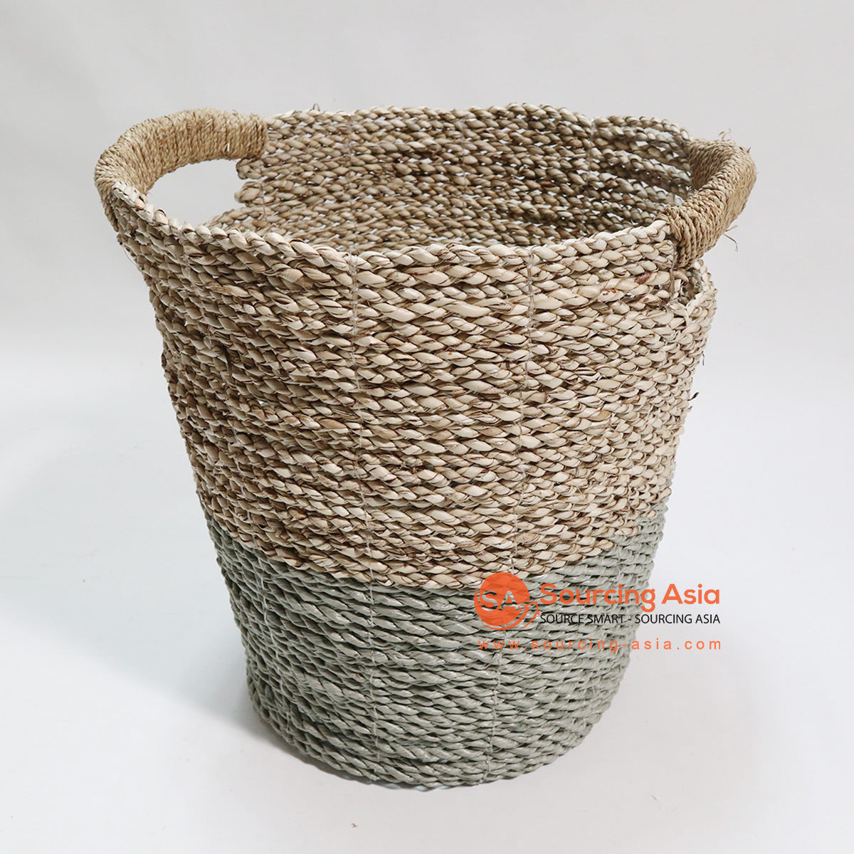 HBSC070 SEA GRASS WASTE PAPER BASKET