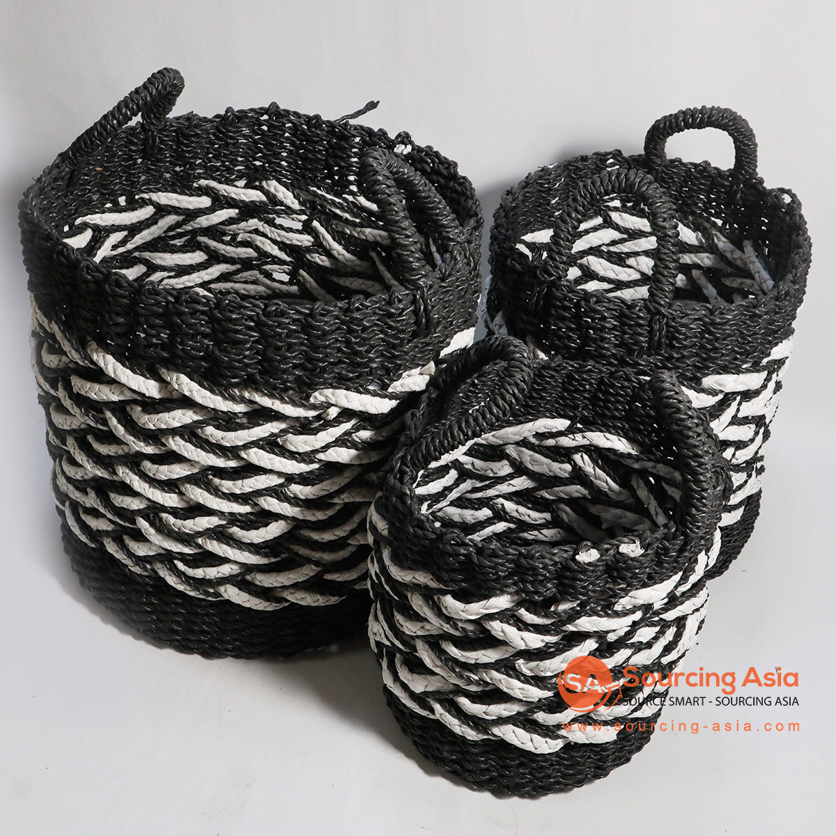 HBSC138-1 SET OF 3 MENDONG AND SEA GRASS BASKETS