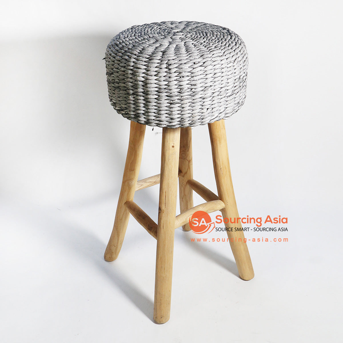 HBSC153 RECYCLED FABRIC BAR STOOL