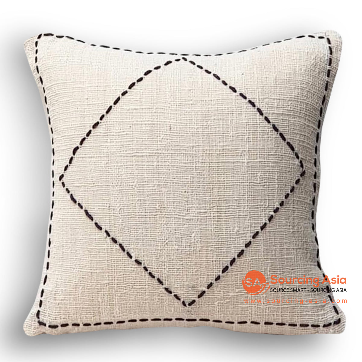 HIP006-1 HAND STITCHED COVER PILLOW 50 X 50 CM