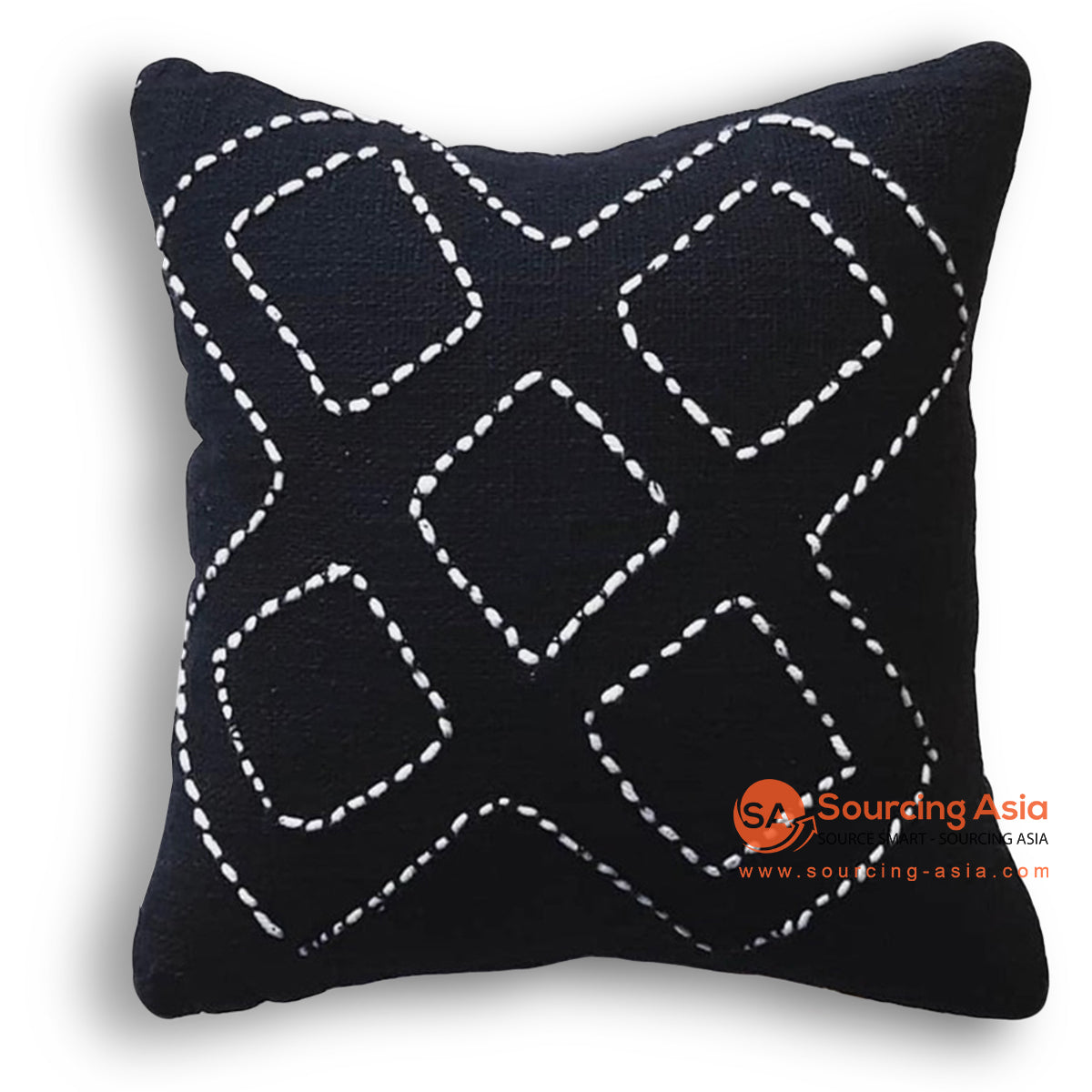 HIP008 HAND STITCHED COVER PILLOW 50 X 50 CM
