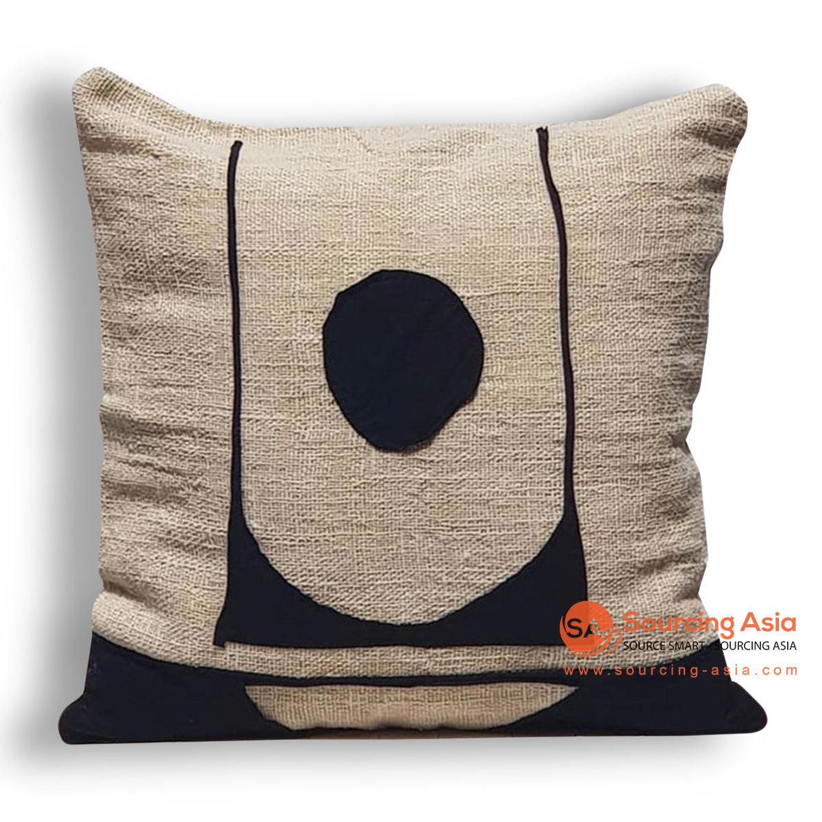 HIP010 EMBROIDERED CUSHION 50 X 50 CM