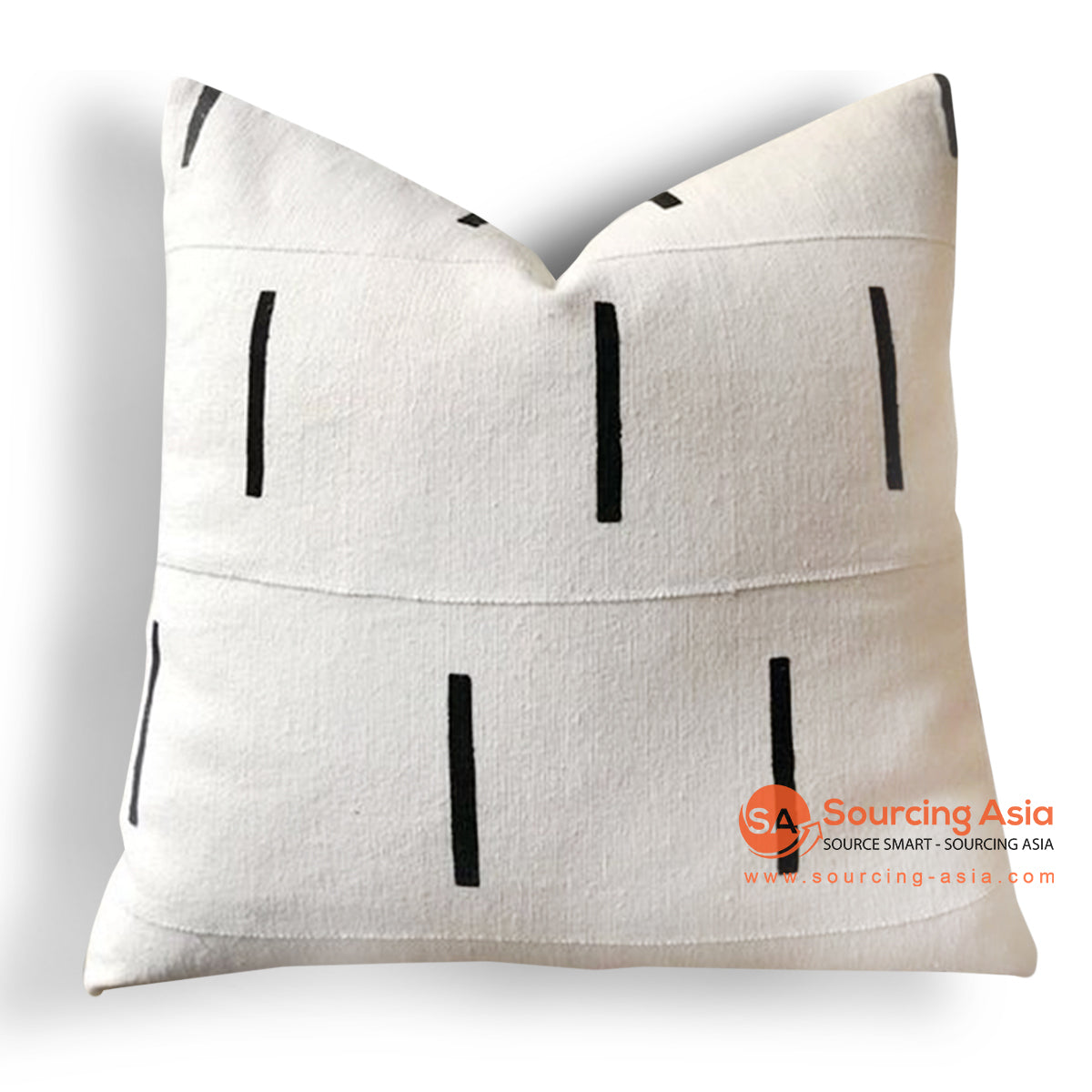 HIP016  EMBROIDERED CUSHION 50 X 50 CM