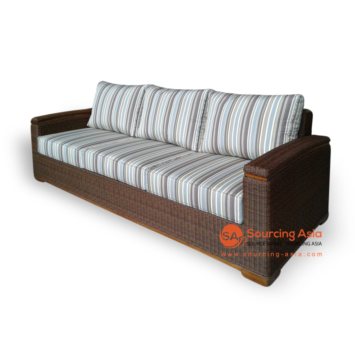 IDR003 3 SEAT SOFA SYNTHETIC RATTAN
