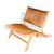 IJF018 COW HIDE LAZY CHAIR