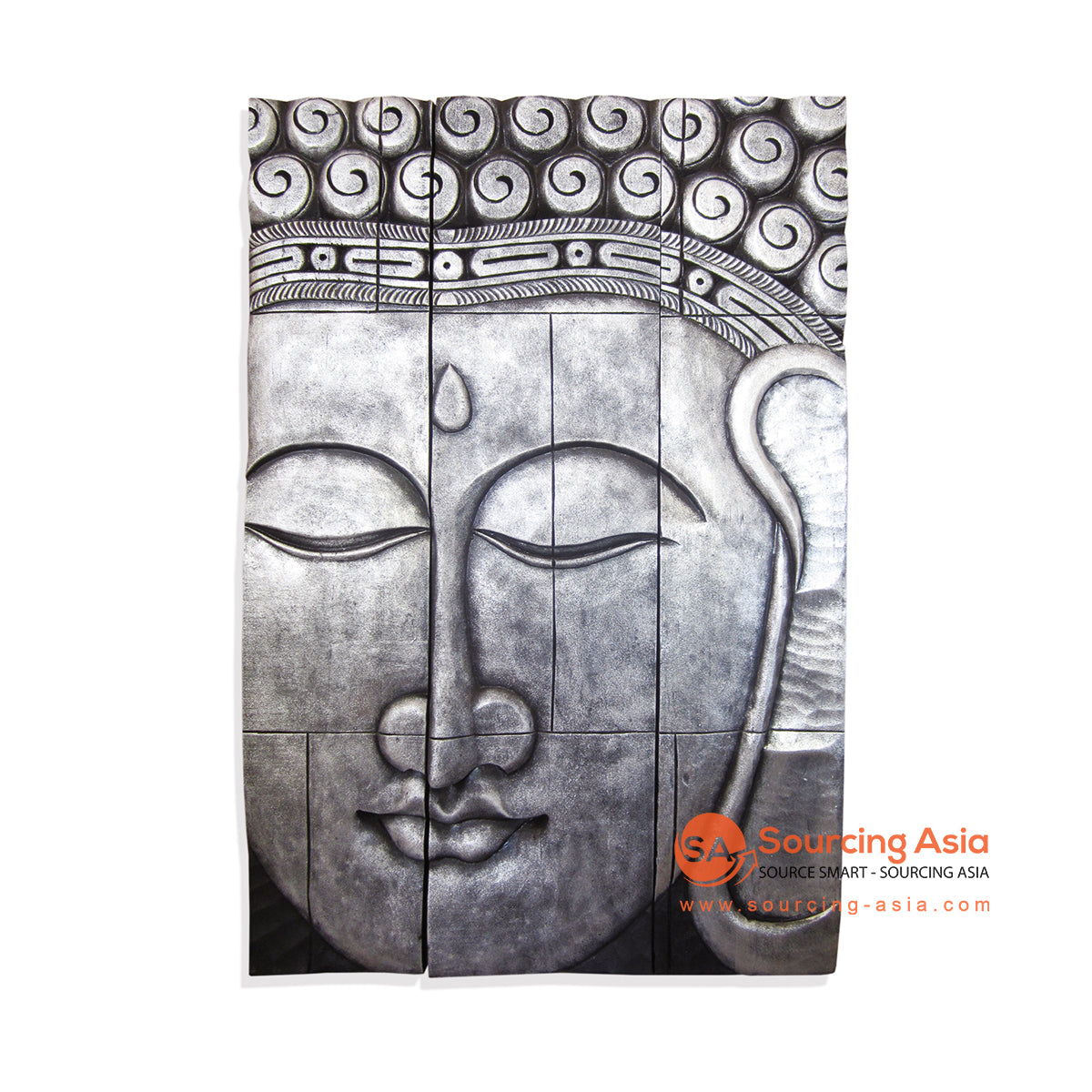 ISUL153-120SBT BUDDHA WALL DECORATION