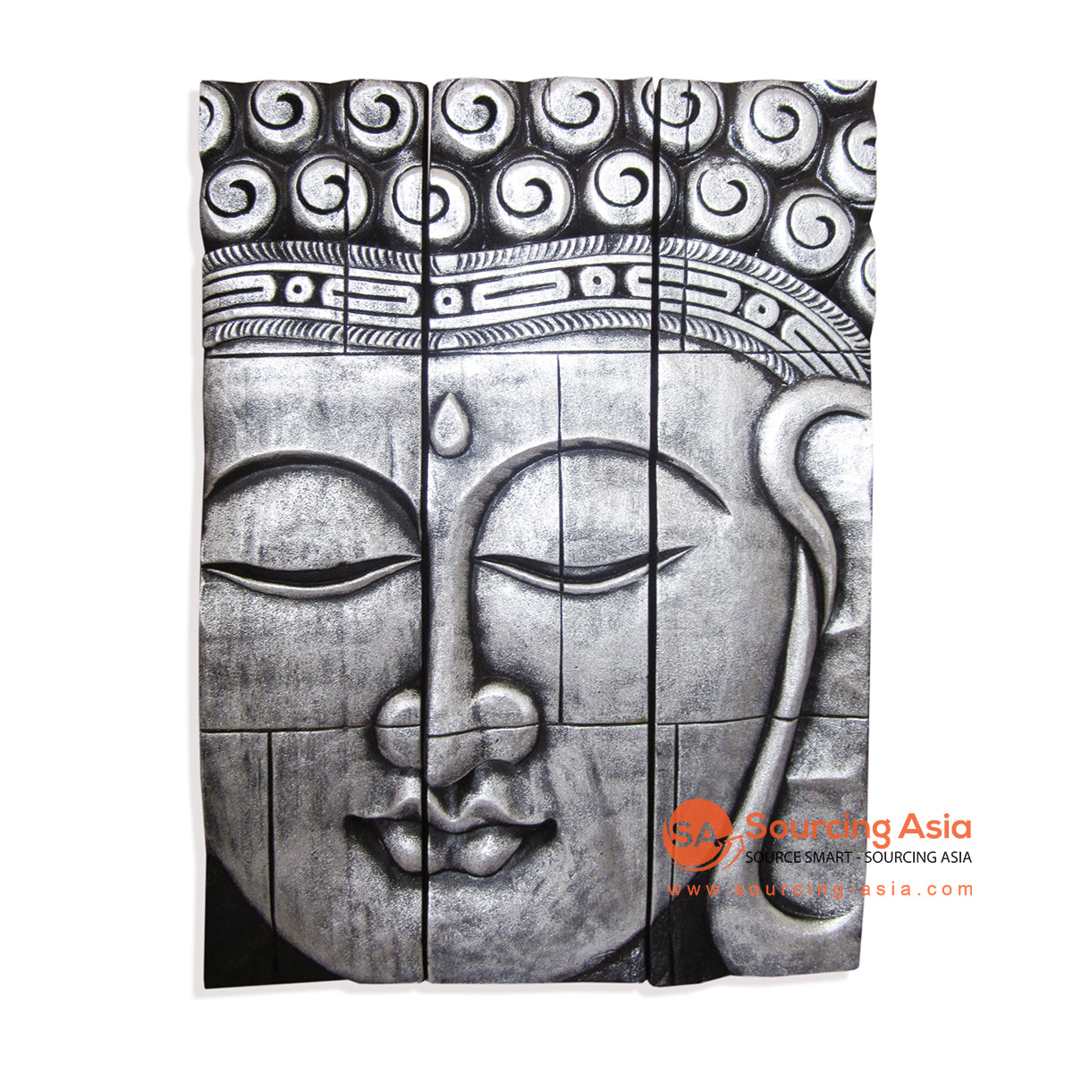ISUL153-80SBT BUDDHA WALL DECORATION