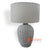 JNP135-SRW LAMP WITH SHADE