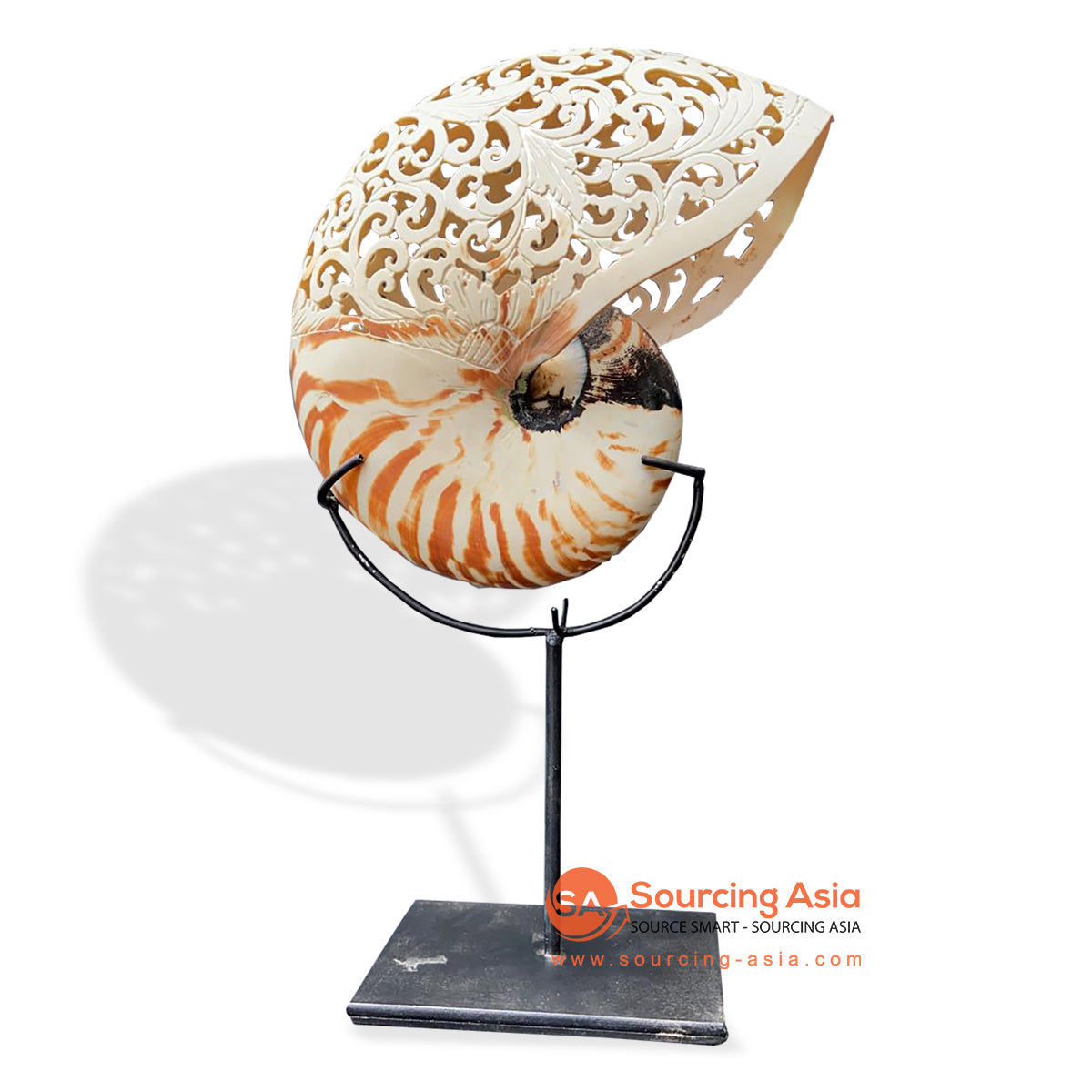 KNT033 SHELL DECORATION ON STAND