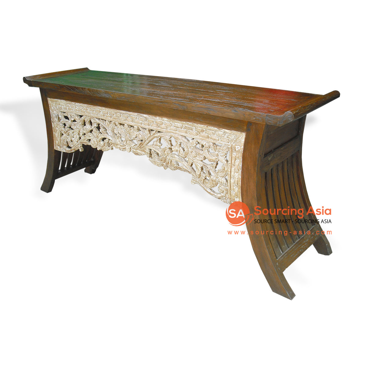 KYT10005-MB CARVED CONSOLE TABLE