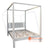 KYT12002 BED WHITE WASH