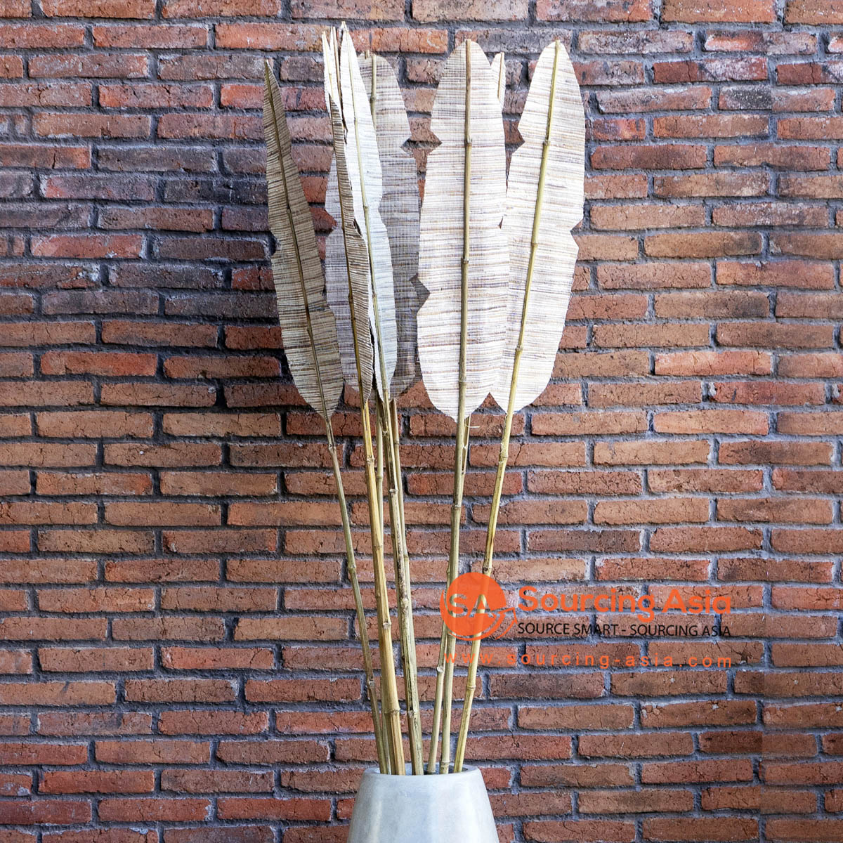 KYT265-1 NATURAL PANDAN STICK DECORATION