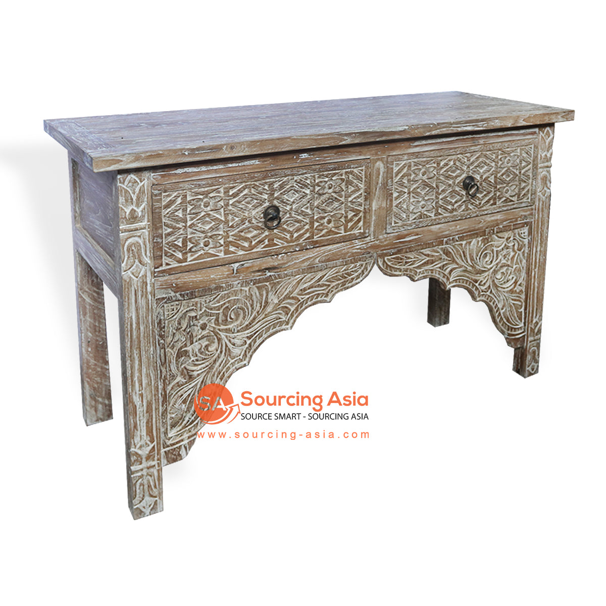 LAC078 CONSOLE WITH 2 DRAWER