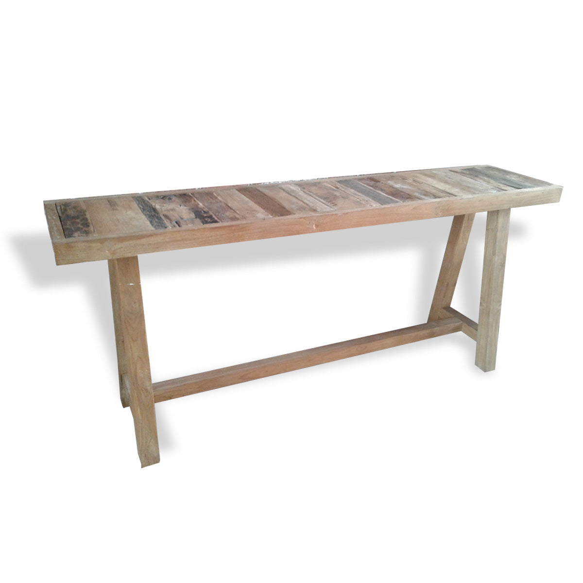 LOF015 RECYCLED WOOD CONSOLE