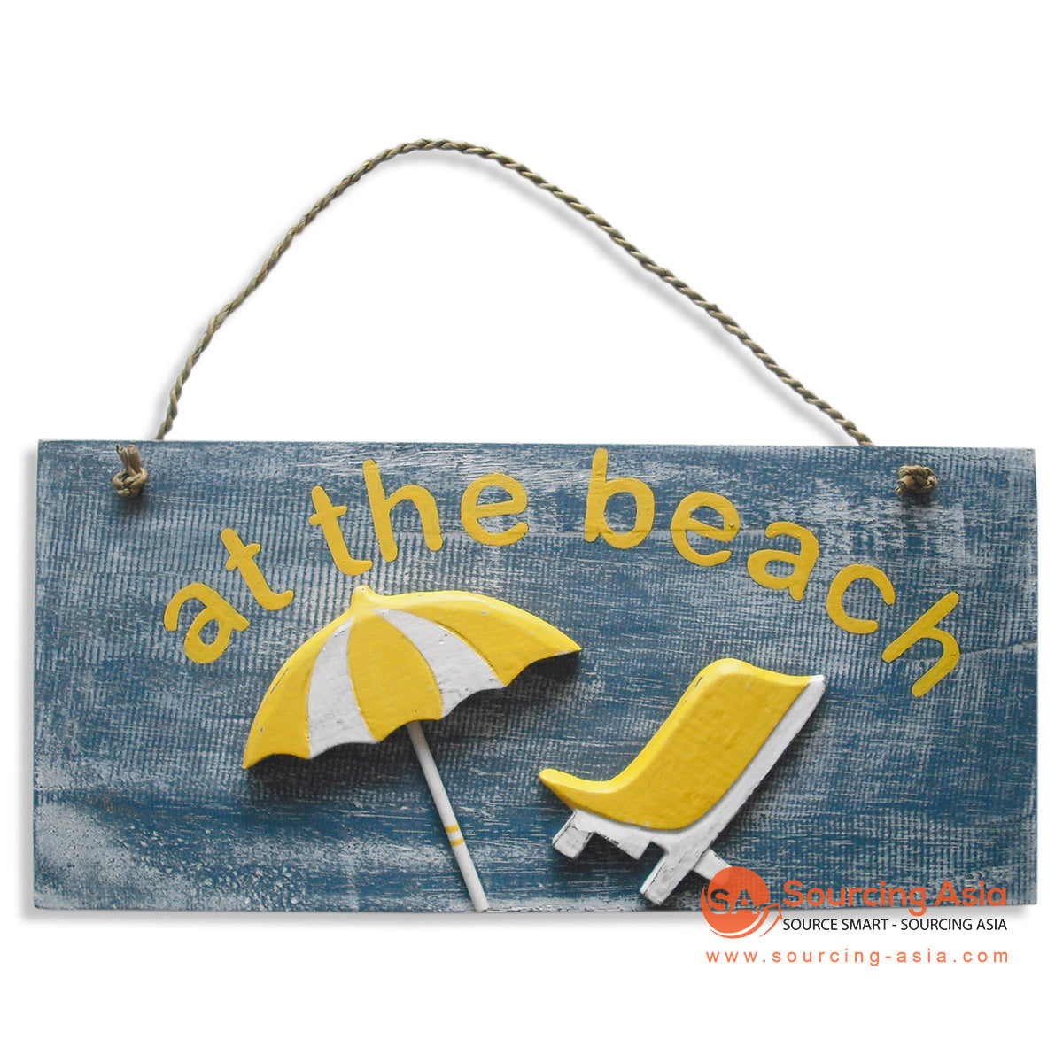 "MDC57 DECORATIVE SIGN ""AT THE BEACH"""