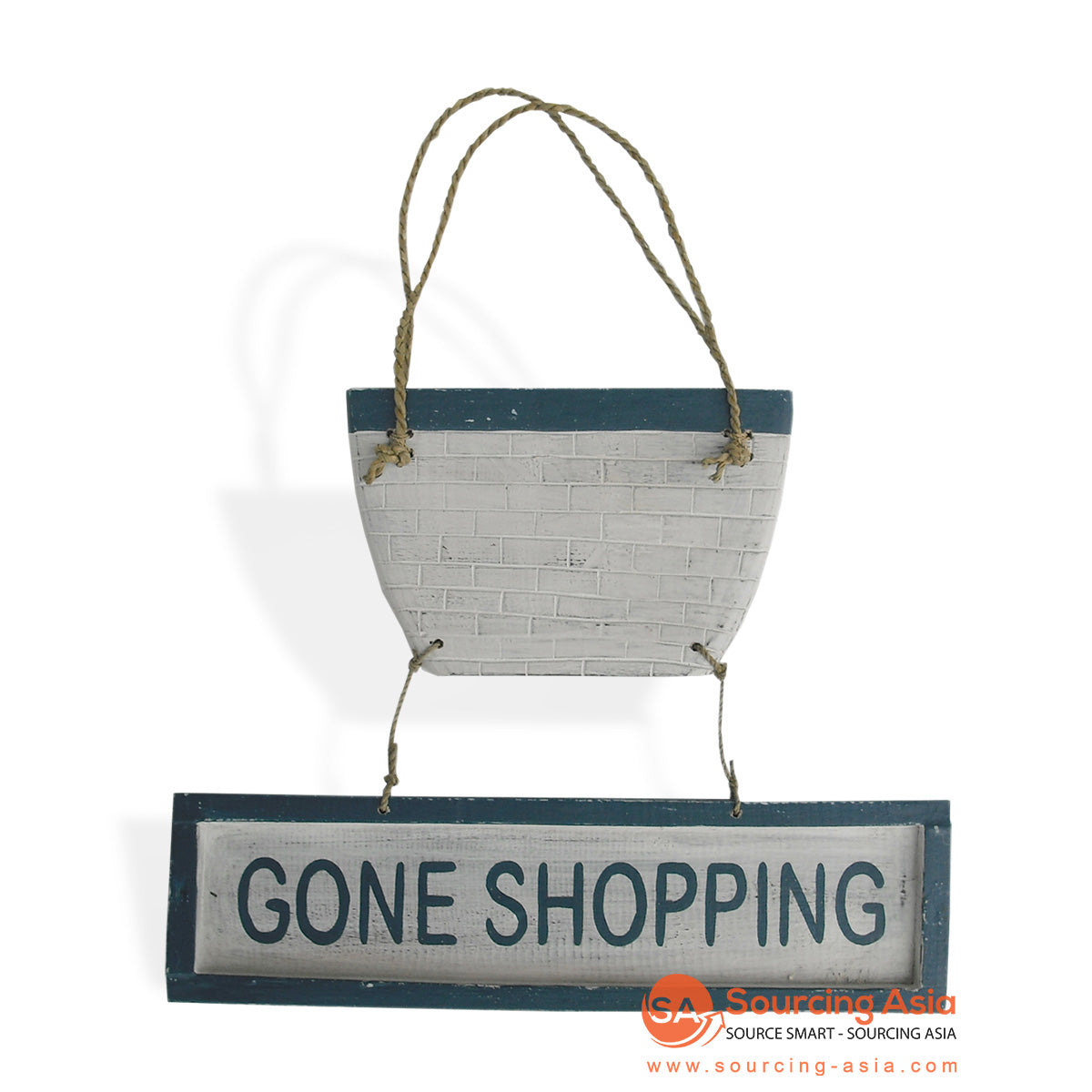 "MDC69 DECORATIVE SIGN ""GONE SHOPPING"""