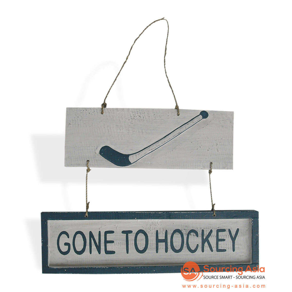 "MDC70 DECORATIVE SIGN ""GONE TO HOCKEY"""