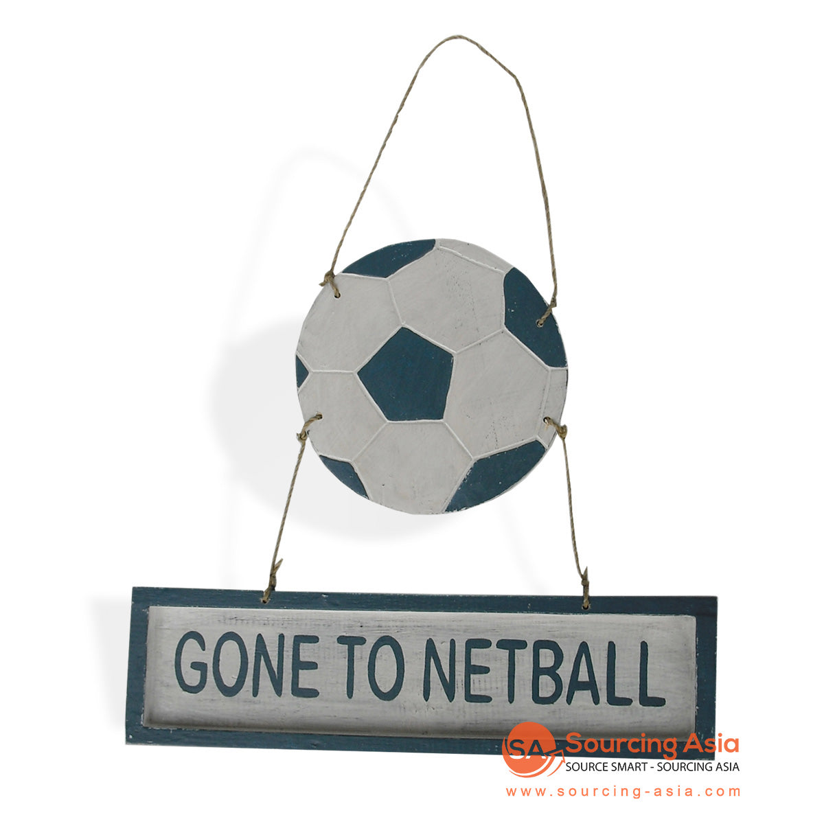 "MDC71 DECORATIVE SIGN ""GONE TO NETBALL"""