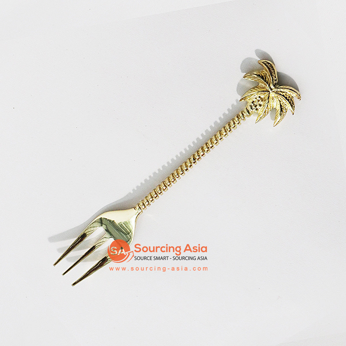 MTL002F BRONZE PALM TREE FORK