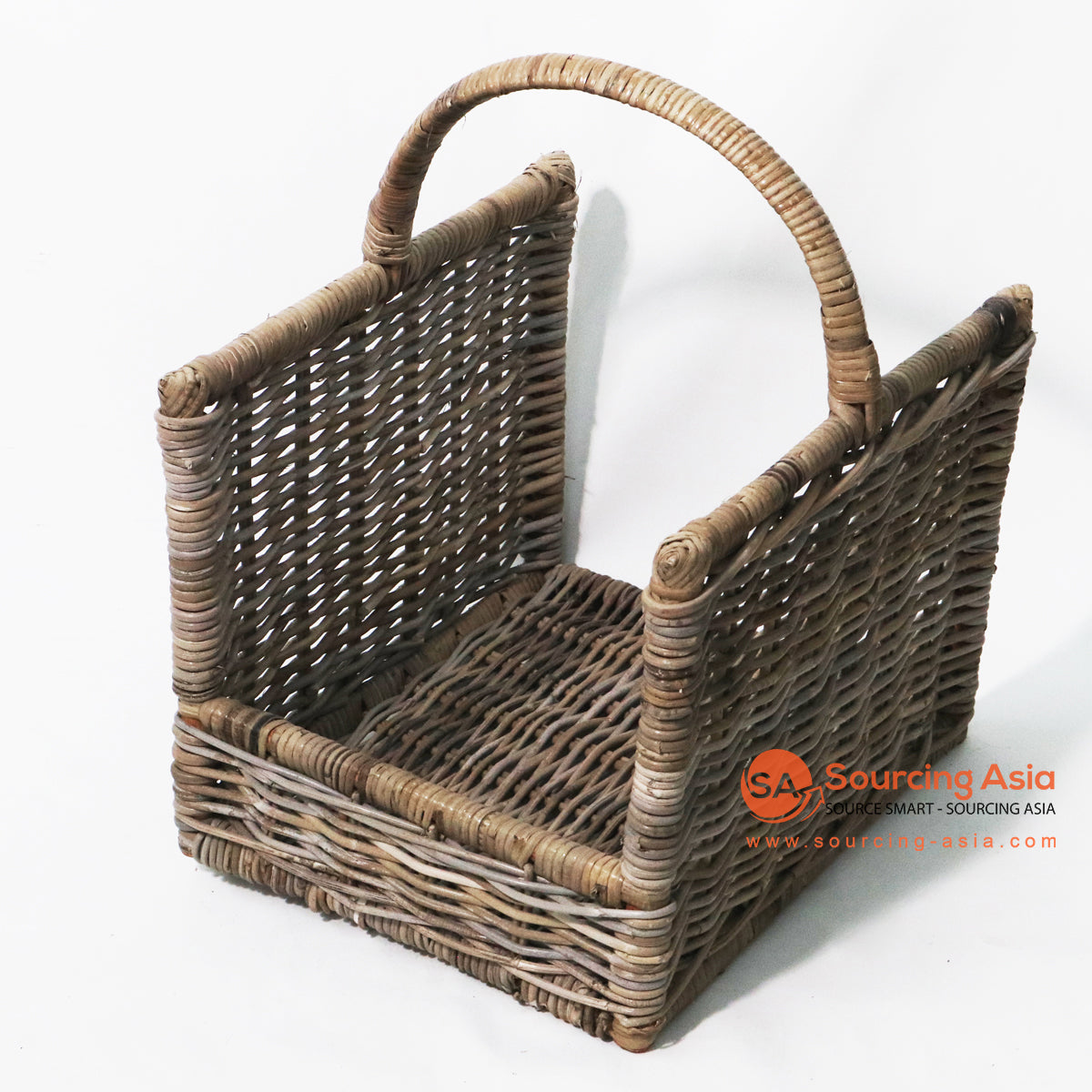 MLT008 KUBU RATTAN MAGAZINE / FIRE WOOD HOLDER