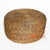 MRC138 NATURAL WATER HYACINTH ROUND POUFFE