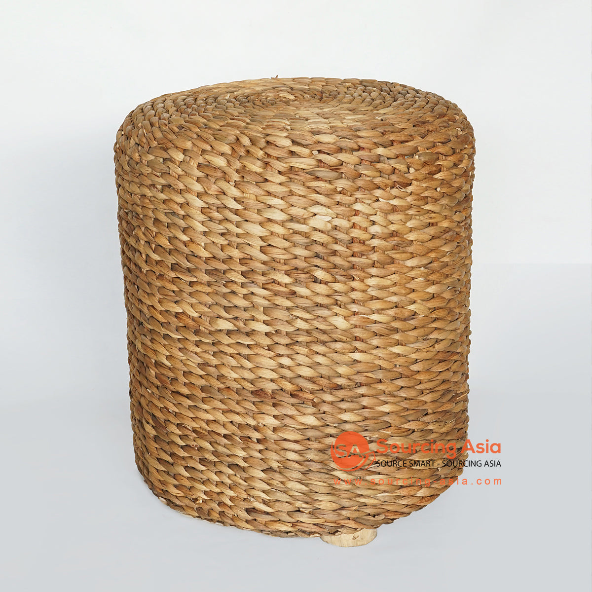 MRC160 NATURAL WATER HYACINTH SITTING STOOL