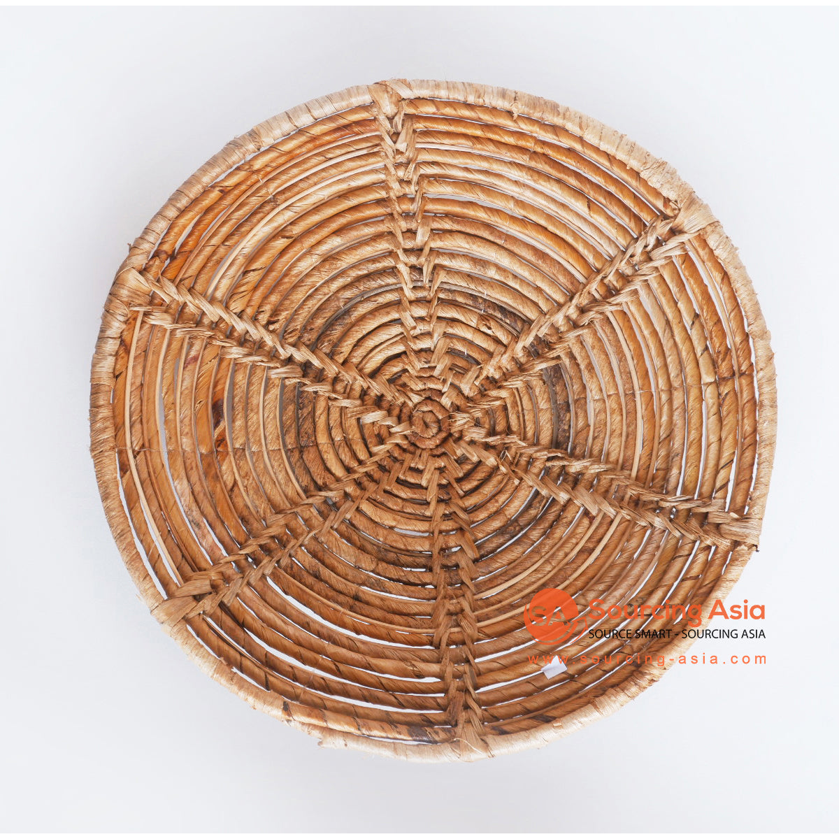 MRC227 NATURAL BANANA FIBER ROUND WALL DECORATION