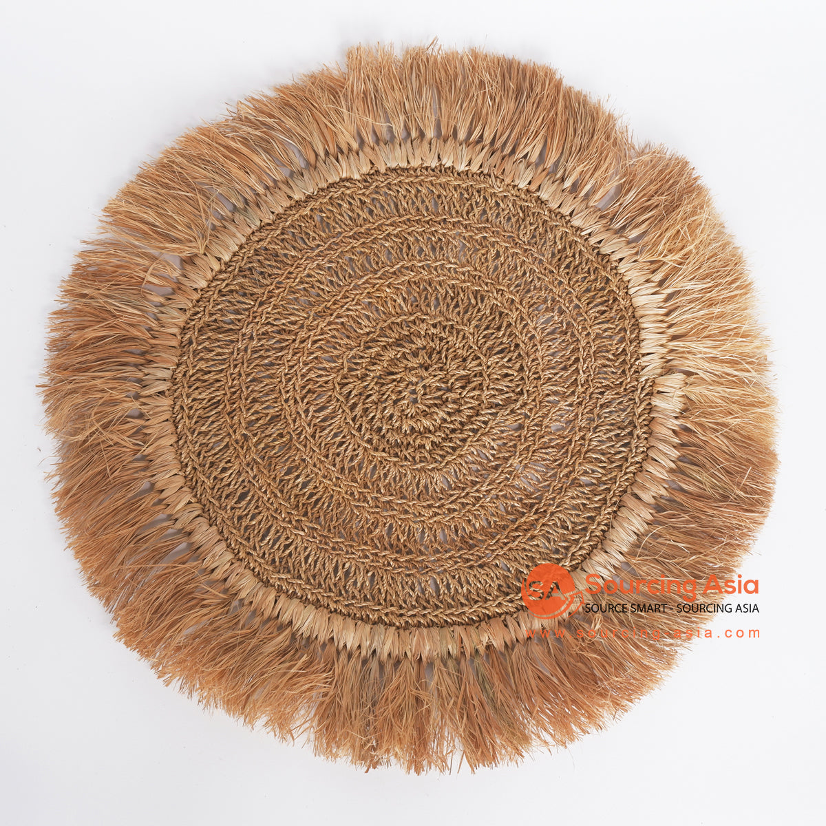 MRC333 NATURAL AGEL AND MENDONG ROUND WALL DECORATION