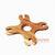 MSB002 TEAK WOOD 4 WINE GLASS HOLDER